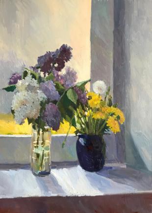 Хорошилова Елена Цветы на окне