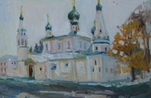 Хорошилова Елена Зимний день в Ярославле