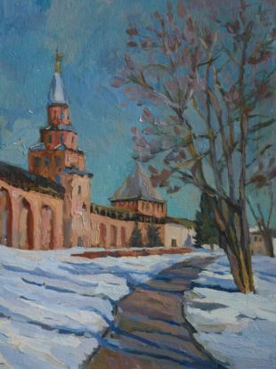 Хорошилова Елена Скоро весна Великий Новгород