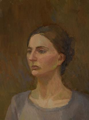 Хорошилова Елена Портрет девушки