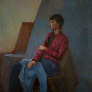 Хорошилова Елена Портрет Киры Одиночество