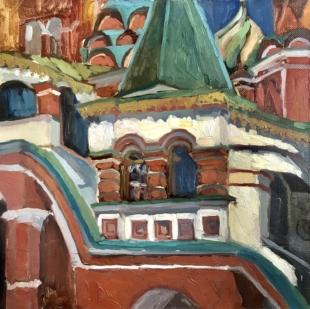 Хорошилова Елена Солнце Покровского собора